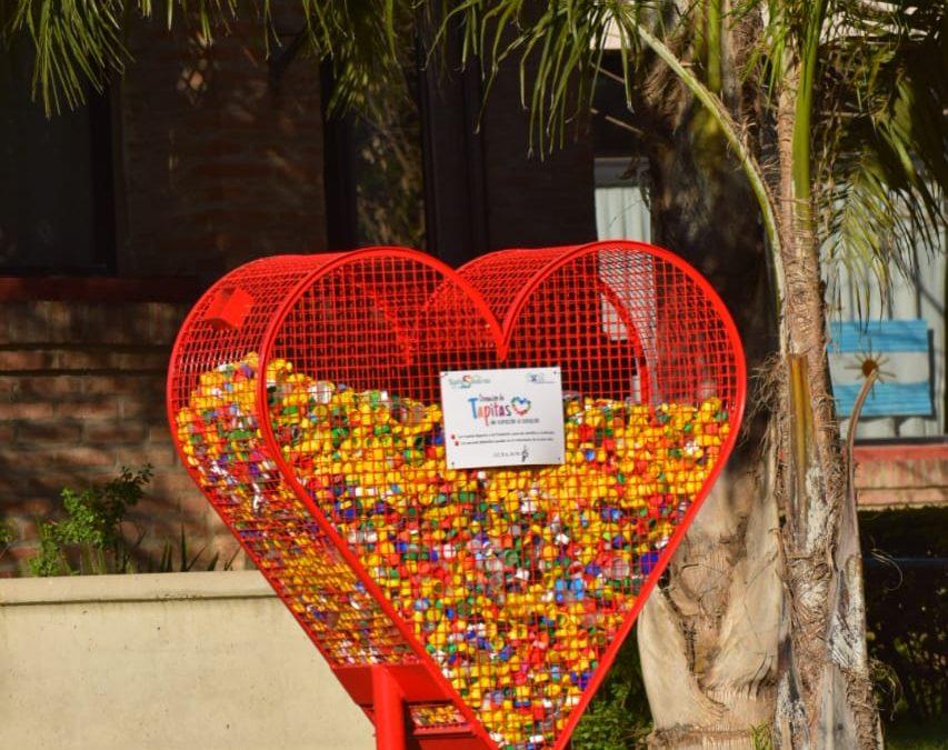 Aumenta la solidaridad al ver los Canastos Corazones distribuidos en la ciudad