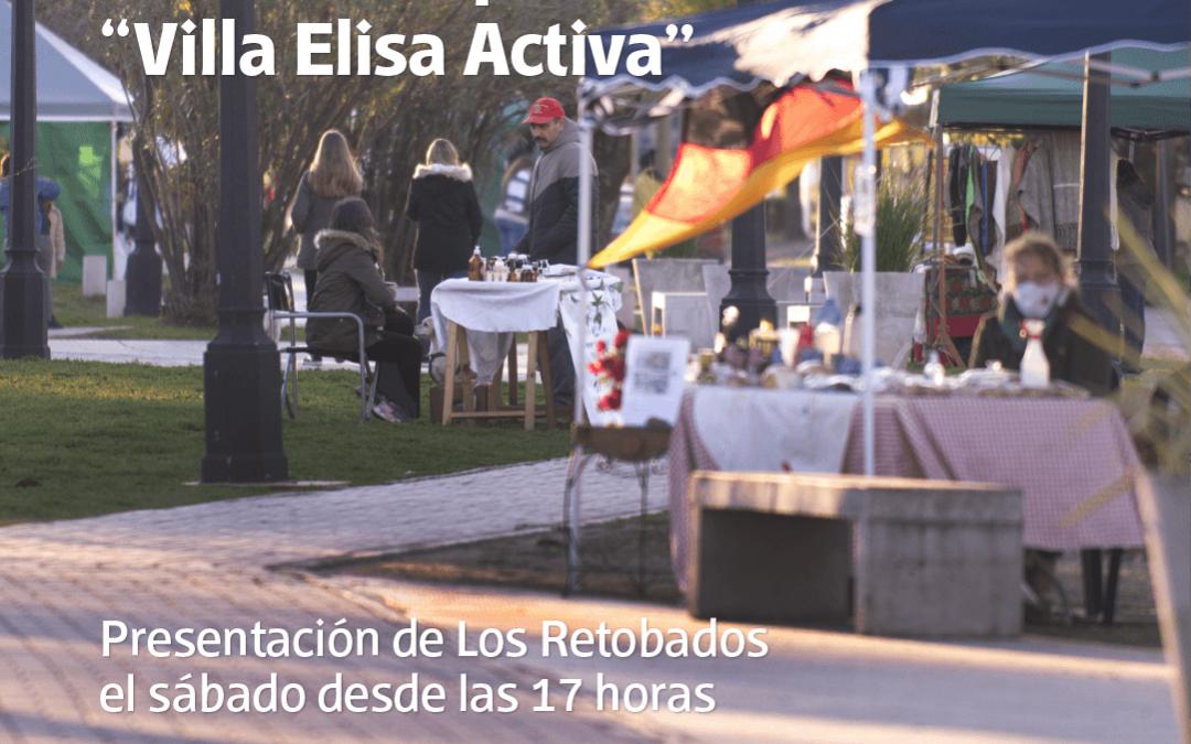 """Desde este viernes elisenses y turistas podrán visitar la Feria de Emprendedores """"Villa Elisa Activa"""""""