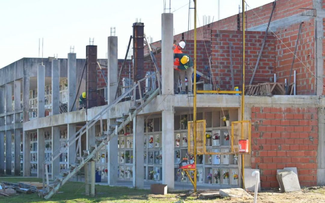 El Cementerio local aumentará su capacidad de plazas con la incorporación de un nuevo cuerpo de nichos