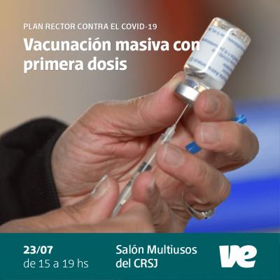 Nueva jornada de vacunación masiva en el Club Recreativo San Jorge